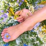 Как убрать отечность ног