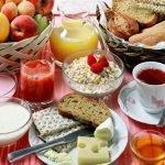 Составляем меню правильного завтрака