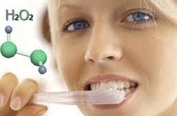 Перекись водорода - отбеливание зубов народными средствами