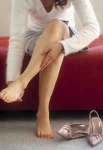 Убираем отечность ног