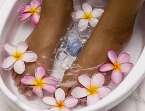 Ванночки при отеках ног