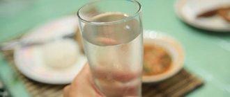 """Можно ли пить воду после еды? Все """"за"""" и """"против"""""""