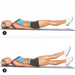 Как убрать бока на талии женщине упражнения