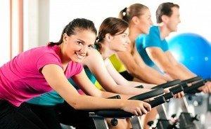 Занятия фитнесом питание