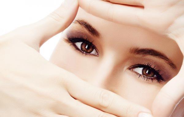 Снятие усталости с глаз