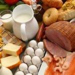 Минералы в продуктах питания