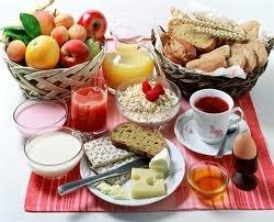 Завтрак для набора веса