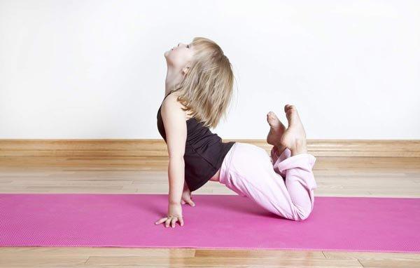 Йога для детей— это здорово!
