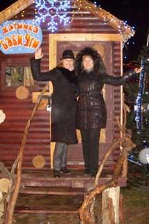 Ольга Суворова и Ирина Гончарова
