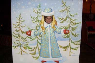 Ольга Суворова - снегурочка