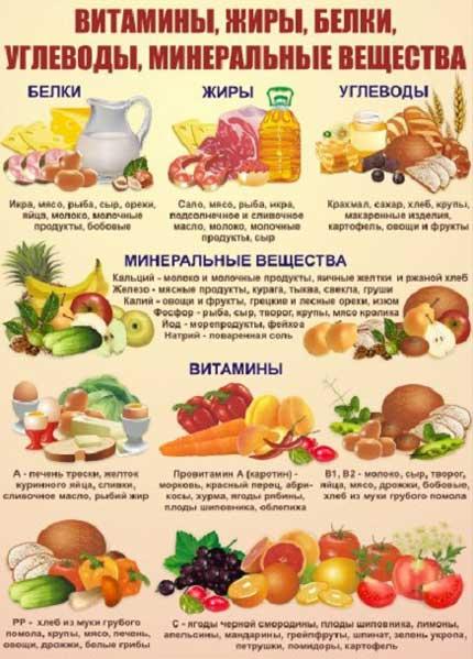 Правильное питание жиры белки углеводы