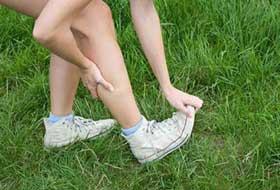 Диета от судорог в ногах