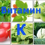 Витамин К: функции, содержание в продуктах, суточная норма, симптомы дефицита