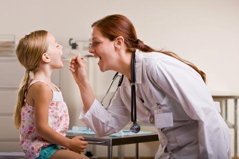 Хронический тонзиллит у детей лечение