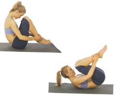 Упражнение «перекаты»