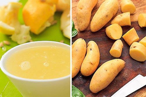 Польза  вред картофельного сока