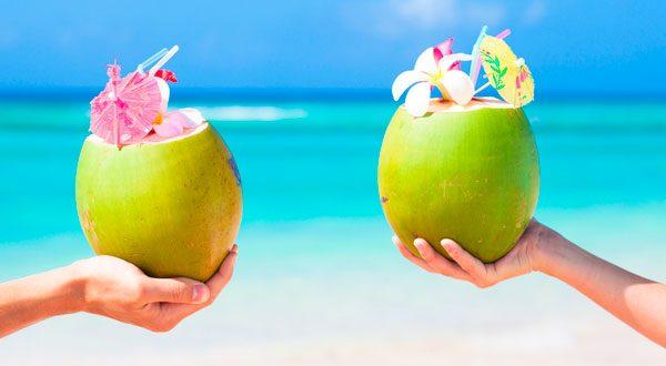 Кокосовая вода - эликсир жизни, красоты и молодости!