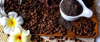 Кофейный скраб для красоты кожи и волос