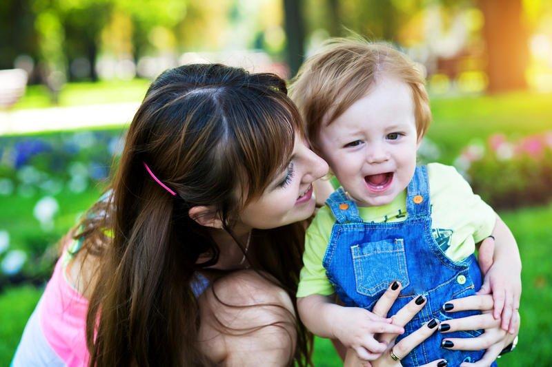Как успокоить ребёнка в возрасте от 4 месяцев до года?