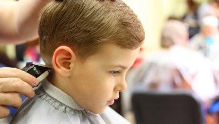 Где лучше подстричь ребенка?