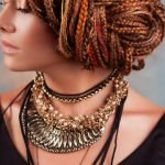 Афрокосы на короткие волосы [20 фото женских африканских косичек]
