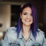 Фиолетовые волосы [50 ФОТО] — обзор красок сиреневого цвета