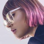 Коричнево-фиолетовый цвет волос [16 фото и обзор красок]