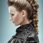 Прическа дракончик [18 фото]: как заплести косичку дракон из волос