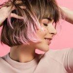 Розовое омбре на темные и светлые волосы [19 фото]